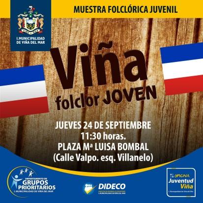 Viña Folclor Joven 2015