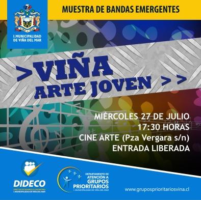 VIÑA ARTE JOVEN 2016